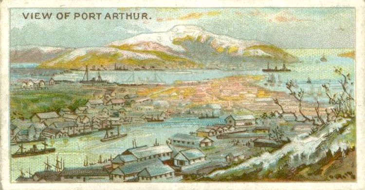 Port Arthur, Zigarettenbild