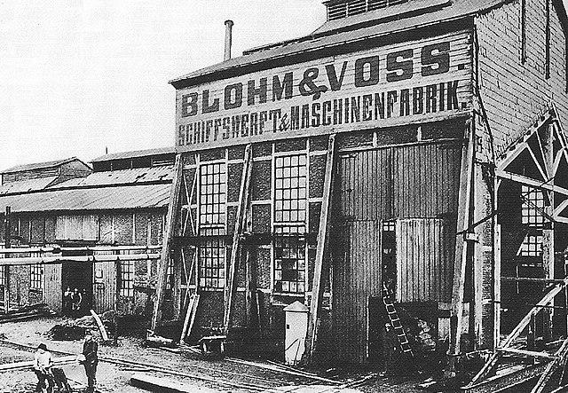 Schiffswerft Blohm & Voss in Hamburg (1877)