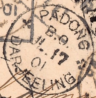 Padong, 17. Juli 1901