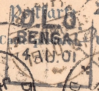 D.L.O. Bengal, 15. August 1901