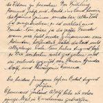 1916, Kriegspost-Brief aus Nanking an deutschen Marinesoldaten, Feldpost, Kriegsgefangener