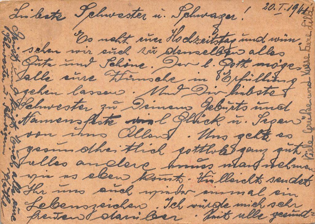 """1941, Einzelfrankatur """"Dah Tung"""" auf Zensur-Postkarte aus Shanghai nach Wien (Deutsches Reich)"""