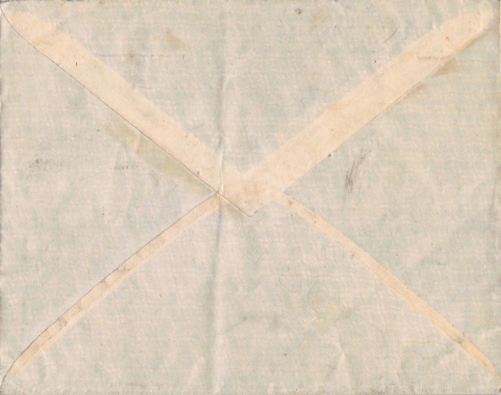 """1941, Einzelfrankatur """"Dah Tung"""" auf Pazifik-Brief aus Shanghai über Portugal in die Schweiz"""