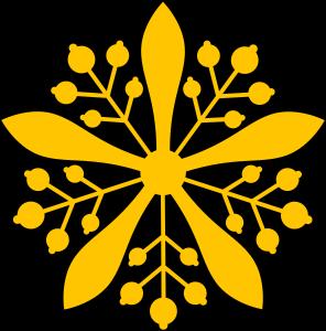 Kaiserliches Siegel des Kaisers von Manchukuo.