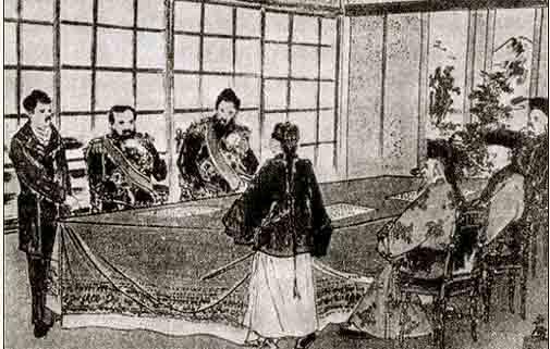 17.04.1895 – Erster chinesisch-japanischer Krieg: Vertrag von Shimonoseki